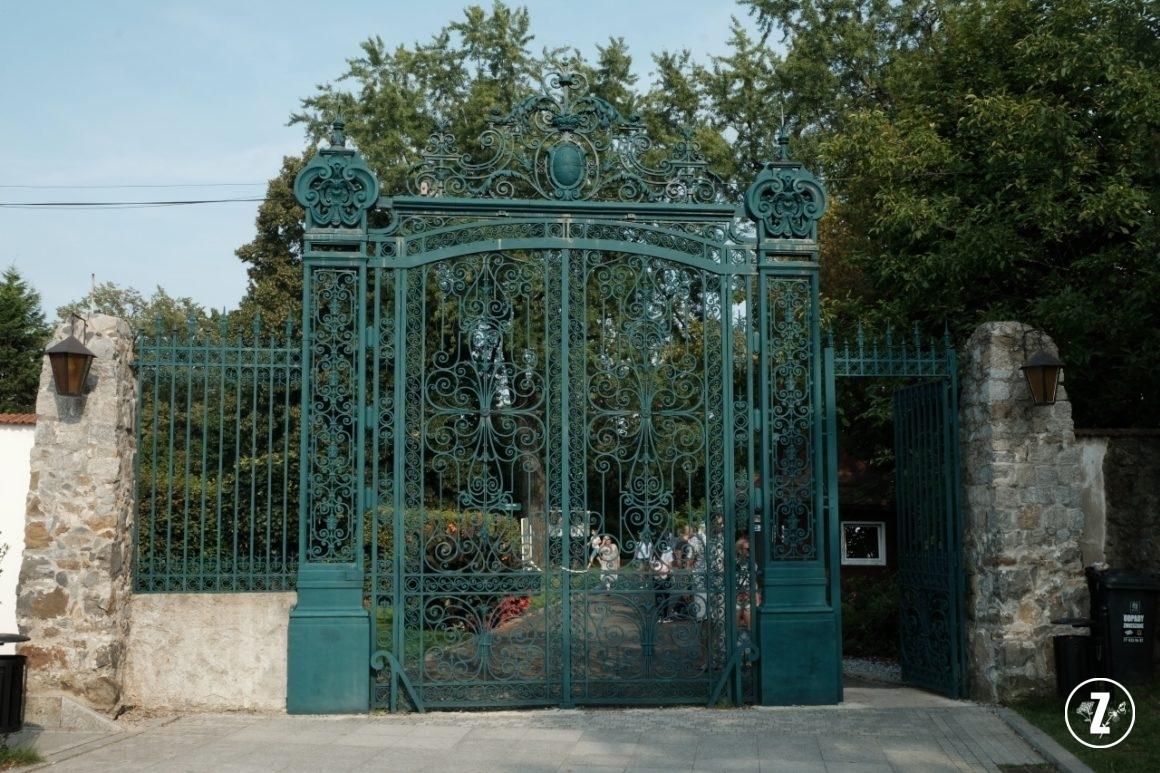 brama Palmiarni Wałbrzyskiej, brama Palmiarni wWałbrzychu